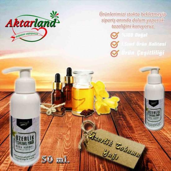 Üzerlik Tohumu Yağı Karaharmal Yağı - 1 Adet - 50 ml